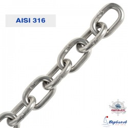 Верига 4 мм неръждаема AISI 316