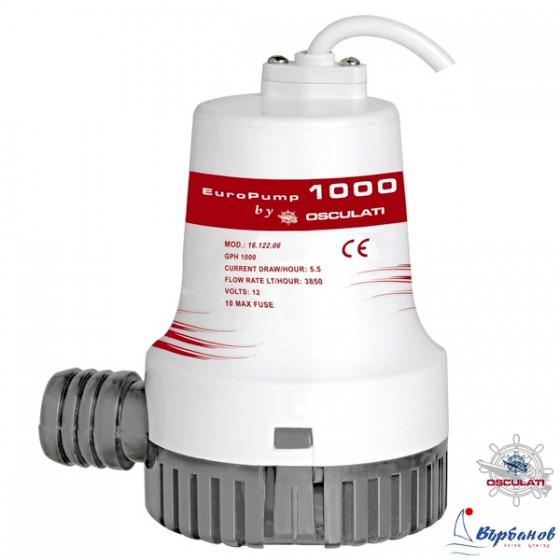 Осушителна помпа Europump II 1000 12V 64л/мин