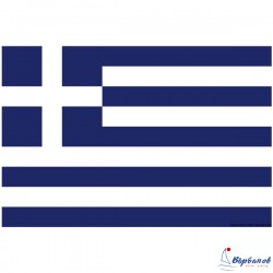 Флаг Гърция 30х45см