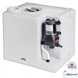 Резервоар за вода с  хидрофорна помпа 12V