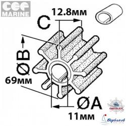Импелер CEF 500350 Johnson/Evinrude
