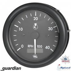 Оборотомер с моточасовник 12V 0-4000 rpm