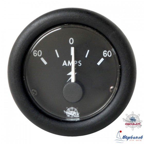 Амперметър 60-0-60А