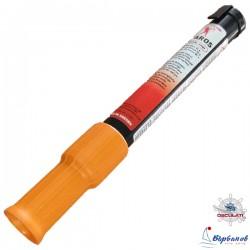 Ръчен оранжев димен сигнал